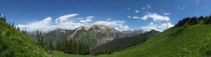 Marble Peak near Marble Retreat