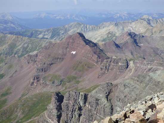 castle peak near marble retreat