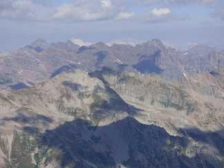 castle peak 14er near marble retreat