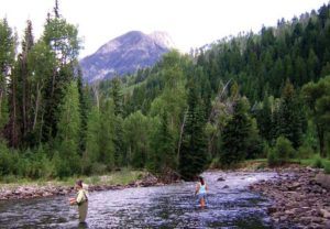 Fly-fishing on the Crystal River - Marble Retreat