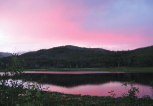 Pink Sunset - Marble Retreat